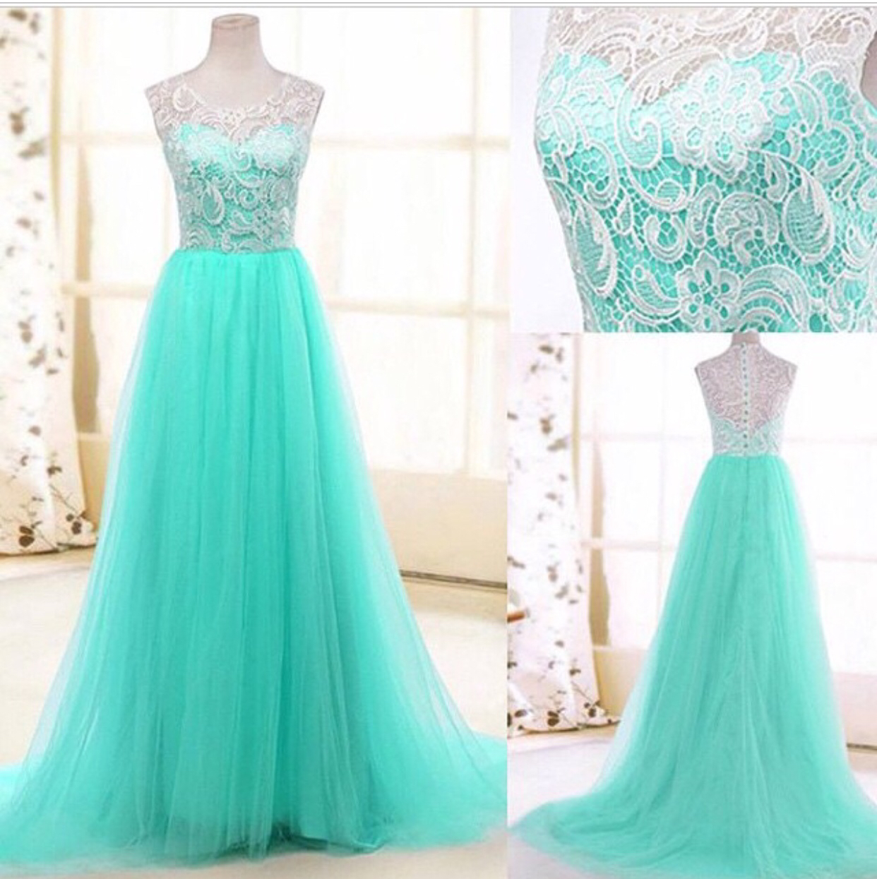 Lace Formal Dress Bridesmaid Dress Women Evening Party Dress Sexy ...